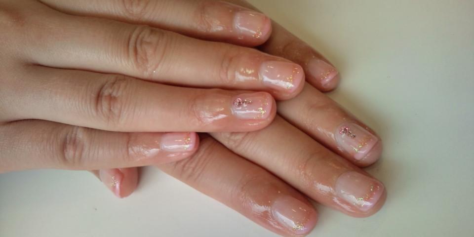 PRIME  No.254「ピンクパープルラメ<br />  nail」