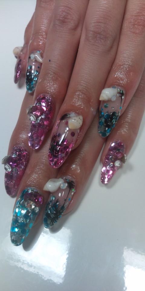PRIME No.277「貝殻nail<br />  」